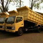 dump truck fe74 hd enam ban truck chasis kabin truk dump jumbo dealer mitsubishi