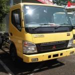 fe73 hd truck chasis enam ban kabin truk dealer mitsubishi
