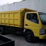 mitsubishi canter dump truk sun motor truck chasis dump jumbo kabin truk tukar tambah