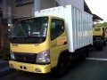 Mitsubishi Colt Diesel Canter in Action