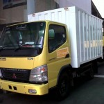 truk engkel empat ban truk box alumunium box sun motor truk chasis